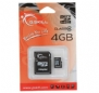 G.SKILL 4GB Micro SDHC Flash Card w/ SD Adapter Model FF-TSDG4GA-C4